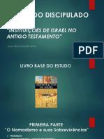 estudo Do Discipulado - Instituições de Israel No Antigo Testamento