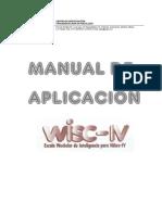 Manual de aplicación WISC