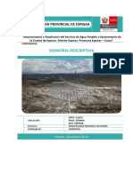 Memoria Descriptiva General Espinar.pdf