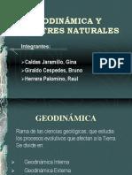 Geodinámica y Desastres Naturales