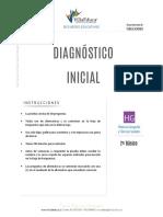 Diagnostico Inicial Historia 2basico