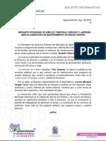 Boletín de Prensa Ayuntamiento Aguascalientes