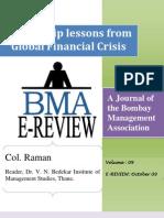 Leadership_lessons From Global Finacial Crisis