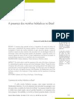 A presença dos moinhos hidráulicos no Brasil - Francisco de C. D. de Andrade
