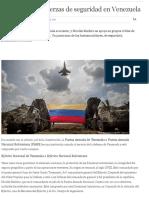 Todo Sobre Las Fuerzas de Seguridad en Venezuela