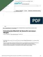 Comunicación EtherCAT de Omron NJ con sensor Wenglor - infoPLC.pdf