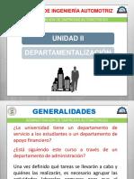 Departamentalizacion