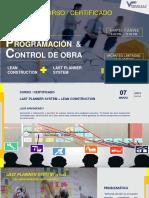 Programación y Control de Obras