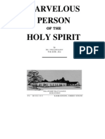 Marvelous Person of the Holy Spirit