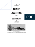 Outlined Bible Doctrine for Beginners