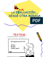 1-LA EVALUACIÓN DESDE OTRA MIRADA.ppt