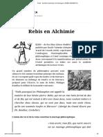 Rebis _ Symbole Alchimique de l'Androgyne _ REBIS HERMETICA