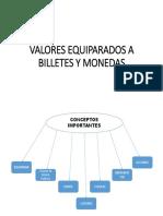 Valores Equiparados a Billetes y Monedas