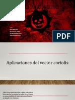 Aplicaciones Del Vector Coreolis