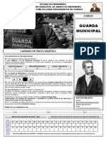 Caderno de Prova Guarda Municipal 1466883759