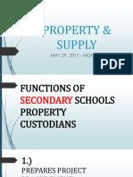 Property & Supply Unit - Post