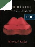 Freud Basico Analisis Psicoanalitico - Michael Kahn