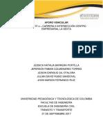 INFORME DEL AFORO VEHICULAR INTERSECCIÓN LA SEXTA.docx