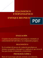 Diagnostico Etiopatogenico Enfoque Biopsicosocial