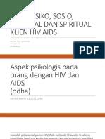 2 Aspek Psiko Sosio Kultural Dan Spiritual Hiv