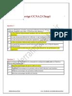 Corrigé CCNA 2 Chap1.pdf