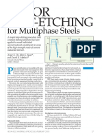 Color Tint Etching for Multiphase Steels