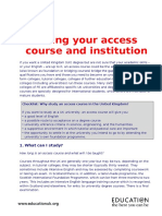 choosing an access course.doc
