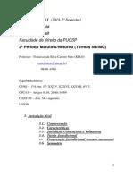 Processo Civil I (2018 - 2) (3a Aula) (Jurisdição Civil)-Converted