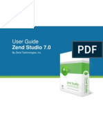 Zend Studio User Guide v700