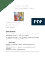 Secuencia Didactica La Salud