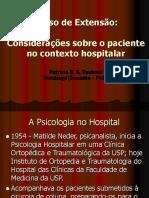A Psicologia No Hospital