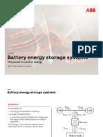 ABB Battery Energy Storage System