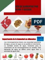 2. Conservacion de Alimentos Por Deshidratracion y Secado