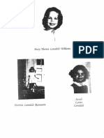 1998 Statement of Mary Therese Lansdale Williams, Patricia Lansdale Rossworm and Sarah Lynne Lansdale