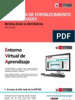 PROGRAMA FORTALECIMIENTO DE CAPACIDADES