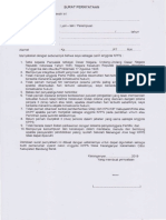 Surat Pernyataan Kpps