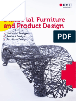 Rmit Industrial Furniture and Product Design Course Brochure