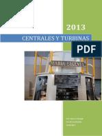 centrales y turbinas