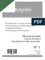 3444 - Macroeconomía - Guia de Estudio - Perez Enrri