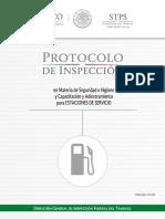Protocolo de inspección de Diésel