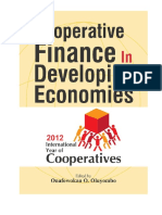Cooperative Finance in Developing Economy