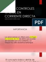 corriente directa  controles