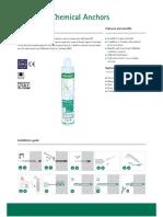 DW - WPSF100 Chemical Anchor