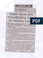 Peoples Journal, Mar. 12, 2019, House opens first breastfeeding room for nursing moms.pdf