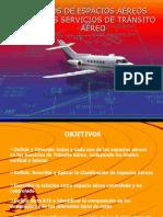 Clases de Espacios Aéreos en los Serv de TTO Aéreo