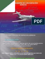 Clasificación de Espacios Aéreos