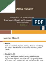 Orientation Mental Health NE