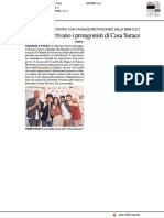 In arrivo a Urbino i ragazzi di Casa Surace - Il Resto del Carlino dell'11 marzo 2019