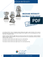Combustion Energy Ex de Aircraft Warning Lights l865 Lxs Ex Medium Intensity White Datasheet 02