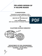 Aspects of Low Volume Roads
